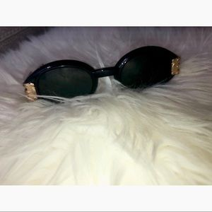 Black gold sunglasses